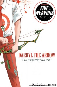 Five Weapons Arrow Teaser