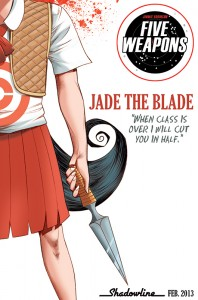 Five Weapons Jade The Blade Teaser