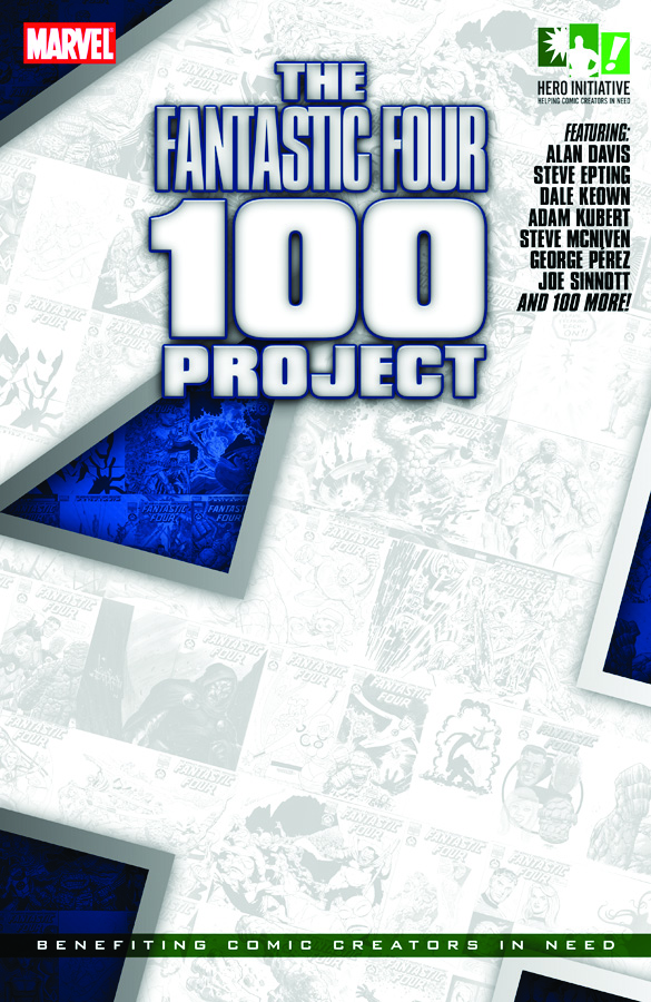 Fantastic Four 100 Hero Initiative Sketch Covers