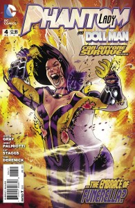 Phantom Lady #4 Cover