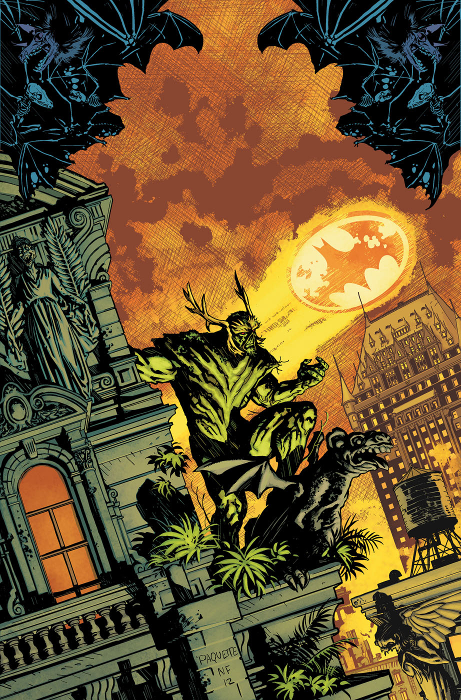 Swamp Thing #15 Cover