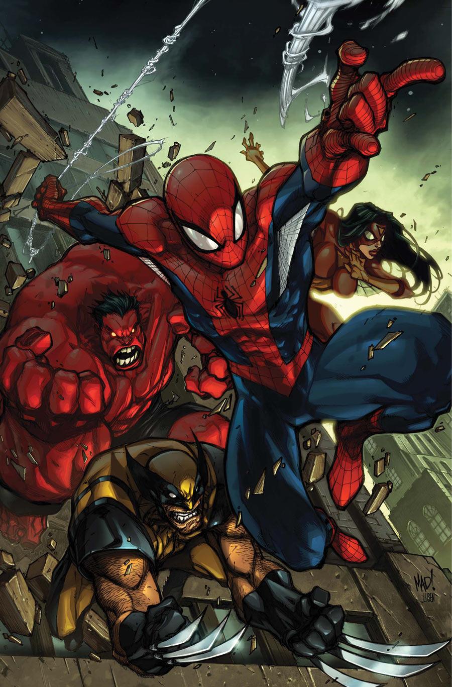 Avenging Spider-Man 01