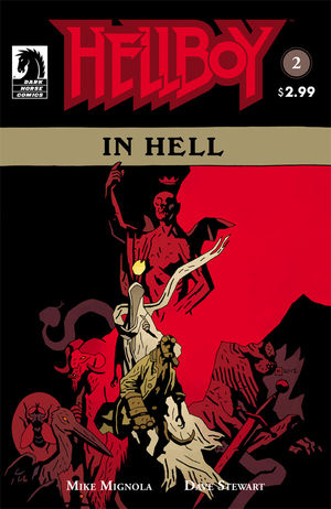 Hellboy in Hell #2 Cover