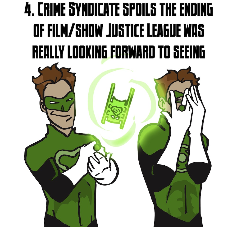 """Countdown: The Top 5 Things The Crime Syndicate Have Done To The Justice League For """"Forever"""