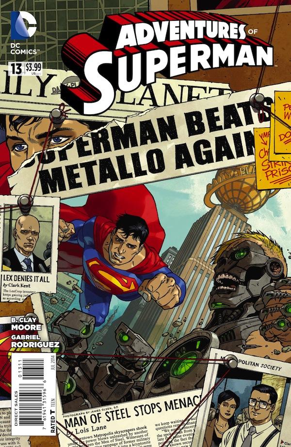 Exclusive: Superman Beats Metallo Again in �Adventures of Superman ...